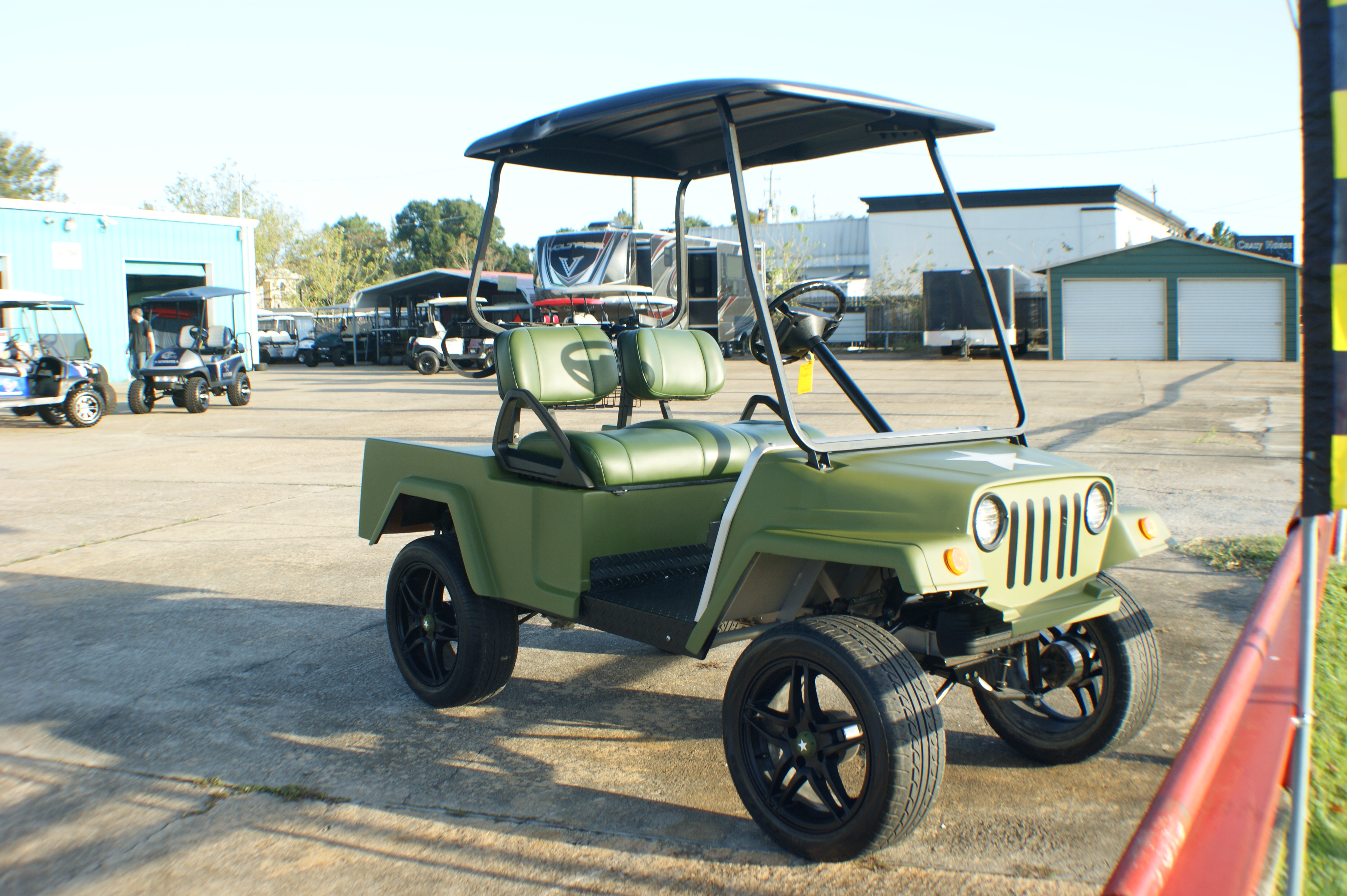 Golf Carts 124